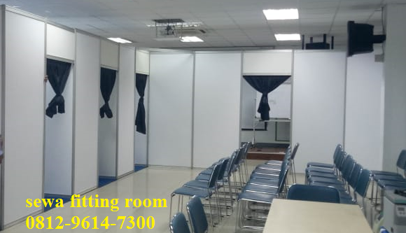 Panel R8, Sewa Partisi Pameran, Sewa Fitting Room, Fitting Room R8