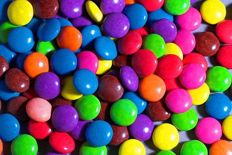 Smarties - Bonbons - chocolats - couleurs