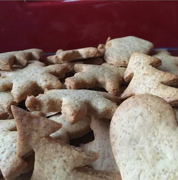 Biscuits - pain d'épices - Noel
