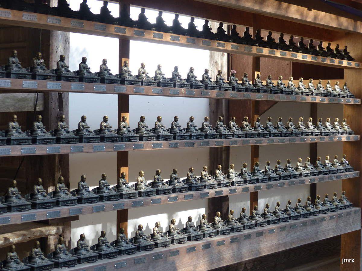 Bouddha est partout y compris dans ce Temple ultra moderne en face de Miya Jima.