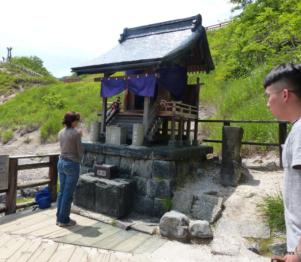 Environs de Hakodate: à Hokkaïdo le volcanisme est visible partout. Les séismes fréquents.