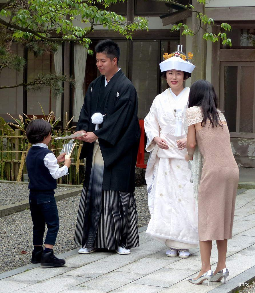 Mariage traditionnel Shinto.