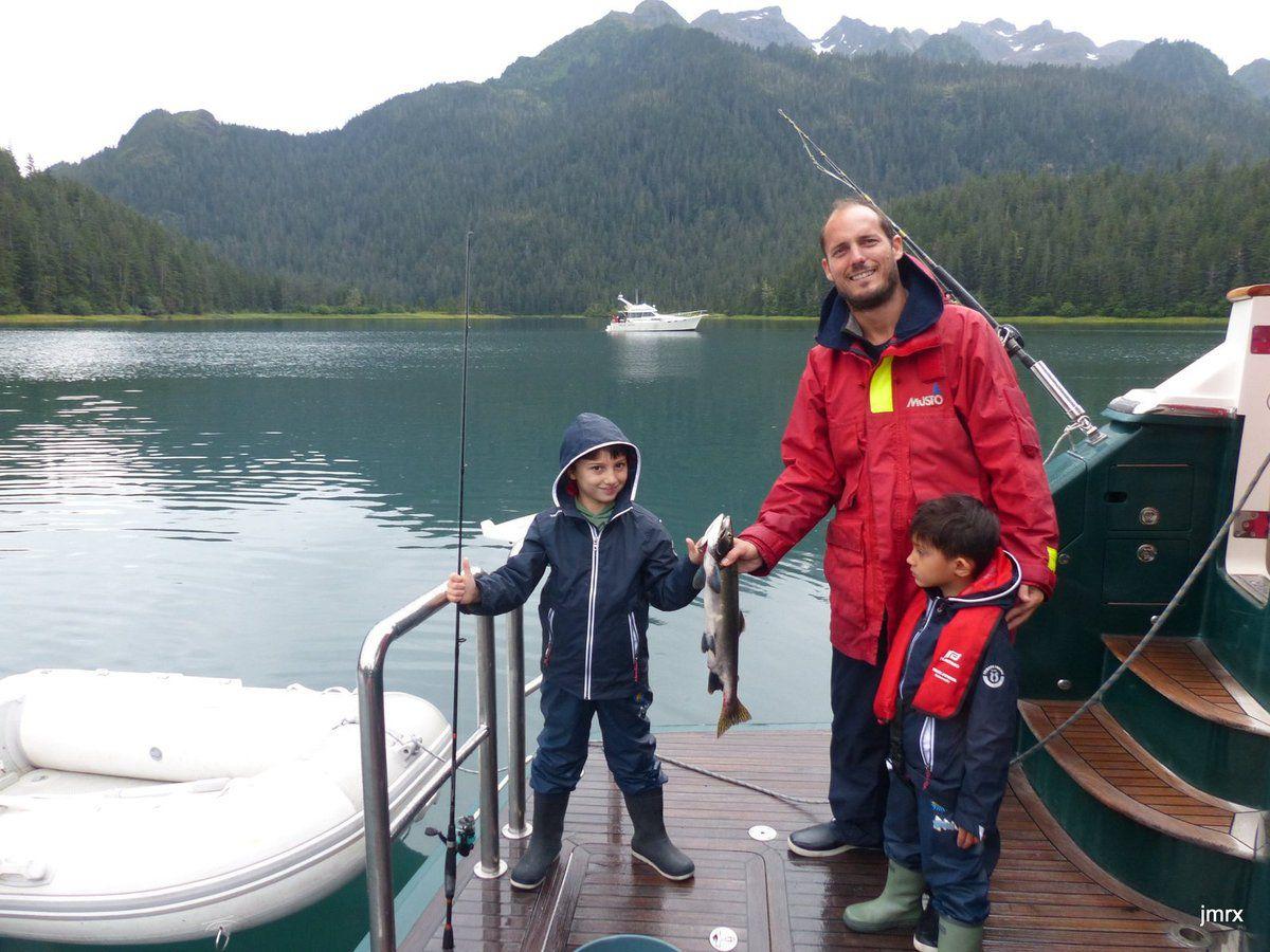 En route pour Valdez.
