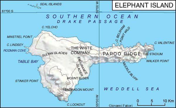 En route pour Elephant Island