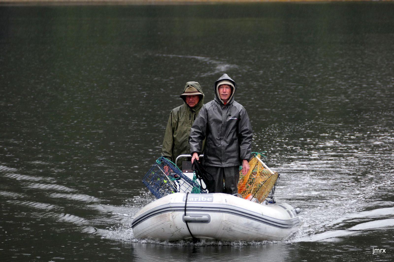Retour de pêche à Devil Fish Bay (Prince of Wales).