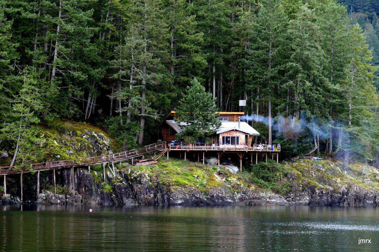 Dark Cove (entrée de Jervis Inlet)