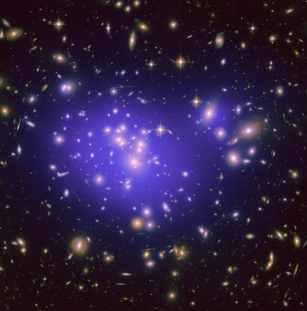 Galaxy Cluster Abell 1689 (NASA)