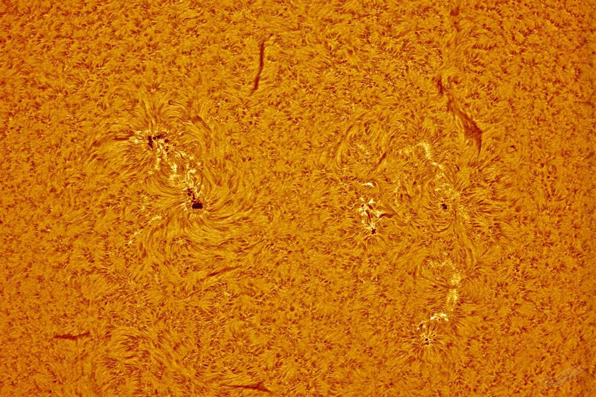 Sun up close (	ESA/ESAC/CESAR – A. de Burgos )