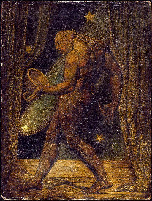 The Ghost of a Flea, William Blake