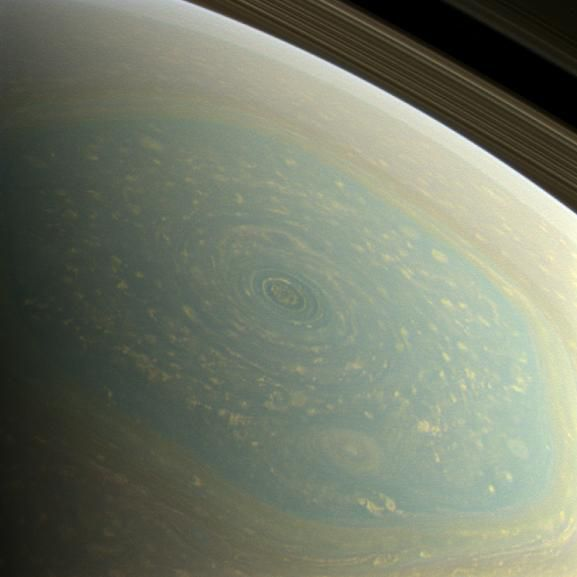 Saturn's hexagon (photojournal.jpl.nasa.gov)
