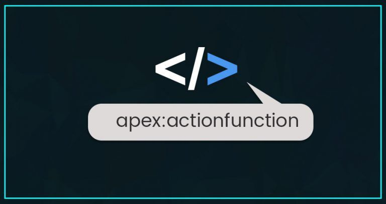 Apex:Actionfunction In The Salesforce VisualForce Page