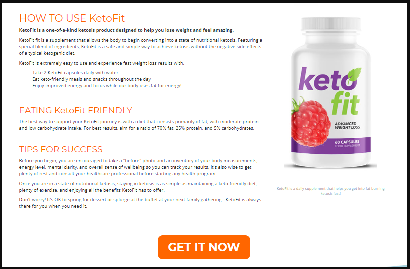 Keto Fit Pills Canada Price Where To Buy Keto Fit In Canada