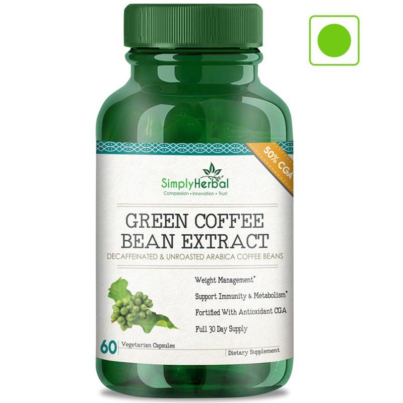 Simply Herbal Green Coffee Bean Benefits Side Effect Weight Loss