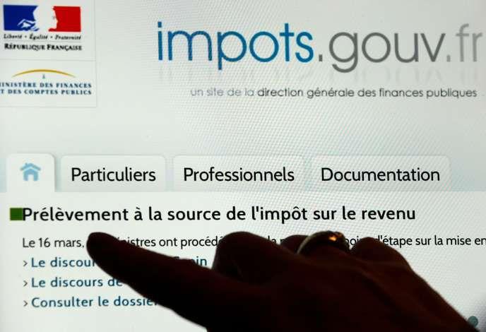 Le site Internet des impôts a peiné à digérer l'énorme affluence de contribuables souhaitant déclarer leurs revenus dans la soirée