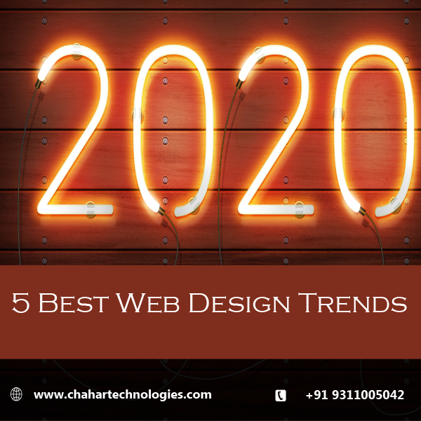 5 Web Design Trends For 2020 Freelance Website Designer In Delhi Best Website Developer In Delhi