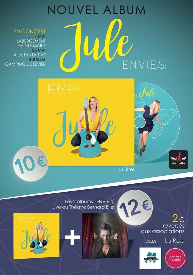 Chanter la vie et ses envie - Julie Rousselet