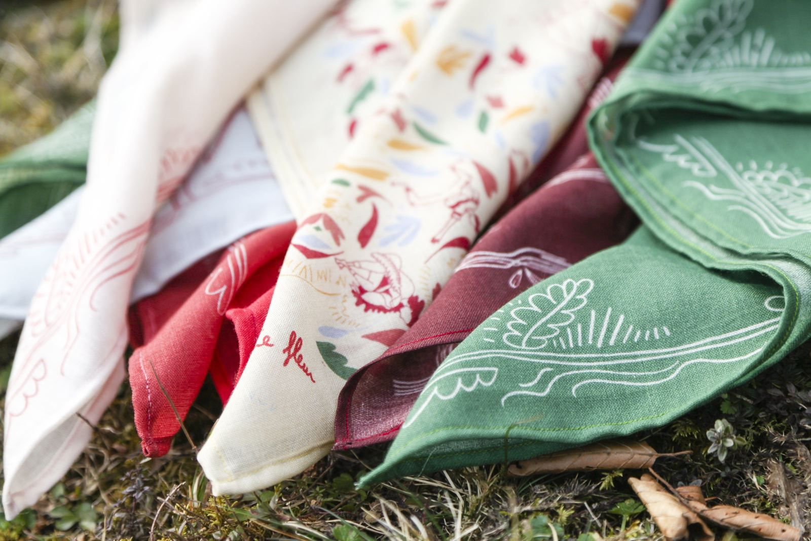Les foulards de Magali made in Haut-Doubs