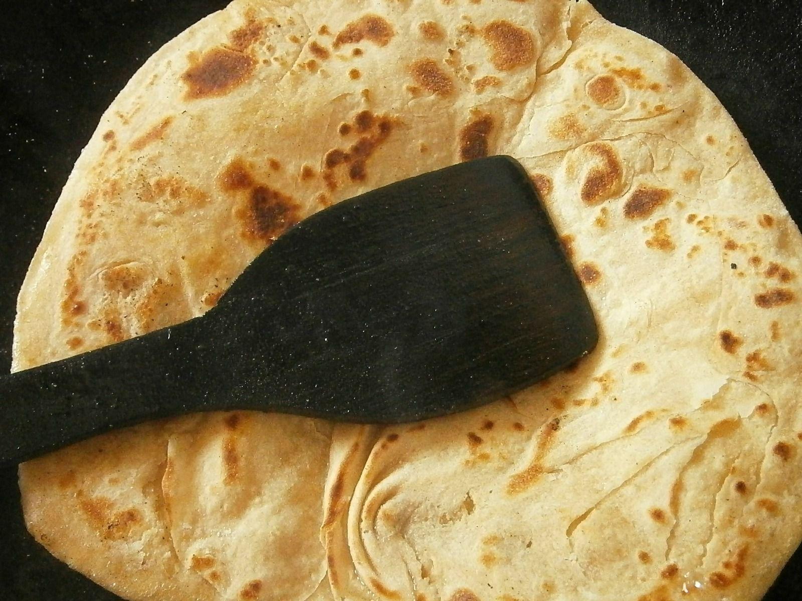Naans au fromage : recette de pain indien