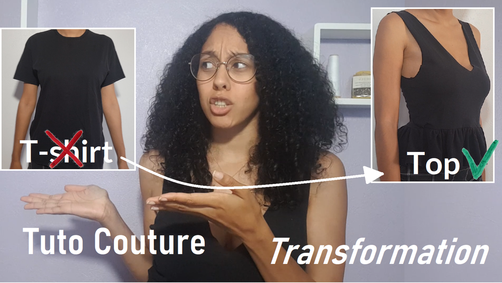 tuto couture upcycling t-shirt