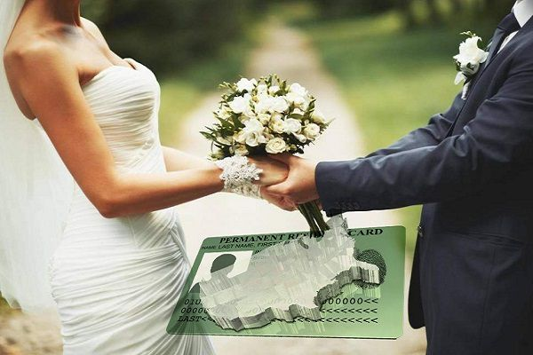 marriage green card