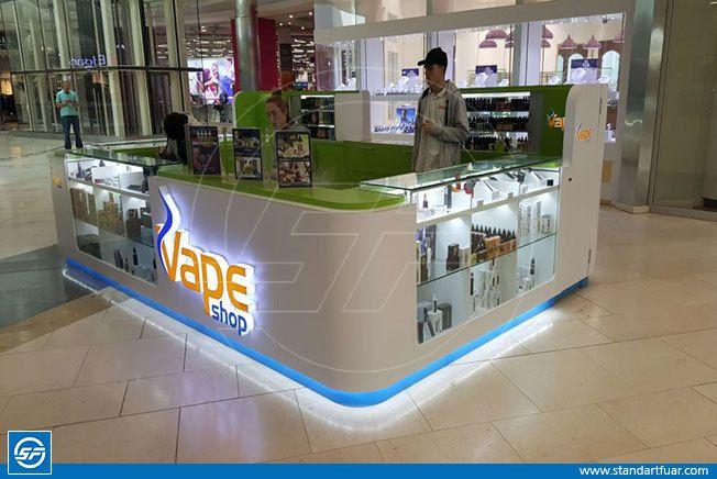 Shopping Mall Kiosk Stands, Dispaly Stands, Wooden Exhibition Stand Models
