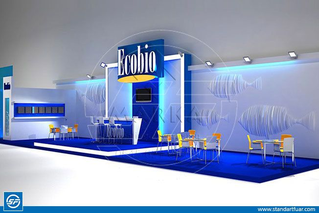 Custom Exhibition Stands, Modular Stand Models, 3D Stand Designs, Wooden Exhibition Stands