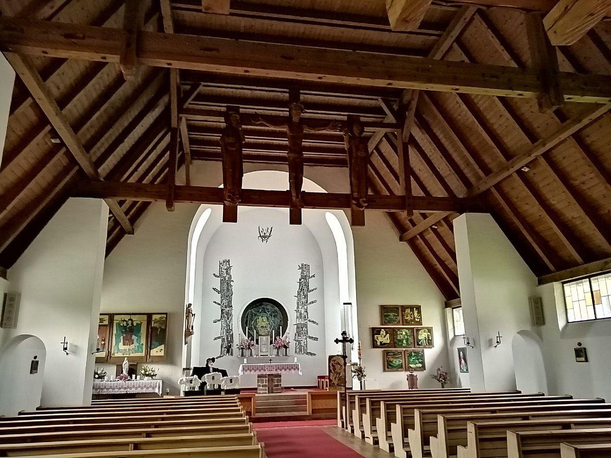 Suite du parcours et l'église de Erpfendorf