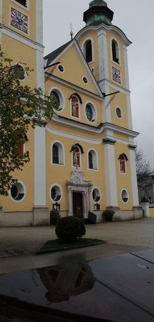 Départ ce matin dans St Johann in Tirol