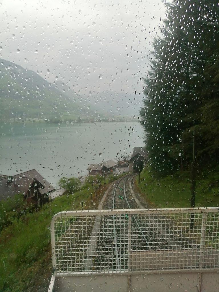 Le bateau pour traverser le lac des 4 cantons