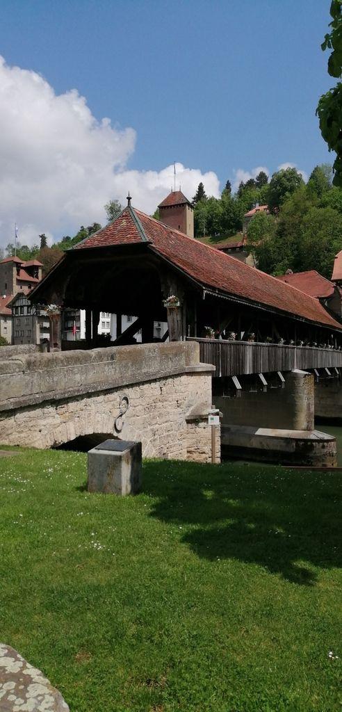 Arrivée à Fribourg