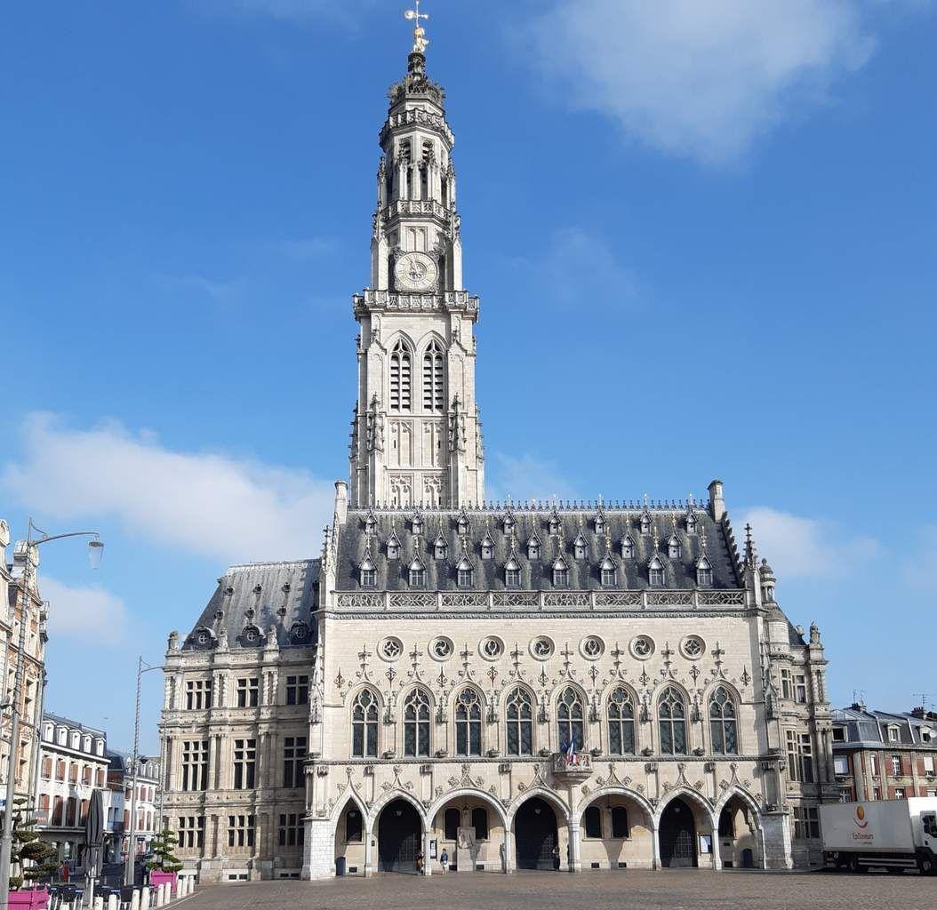 Départ  réel  au Beffroi d'Arras