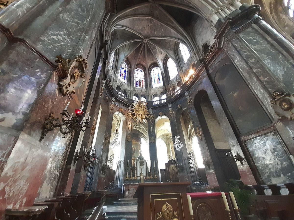 Église St Jacques à  Compiègne