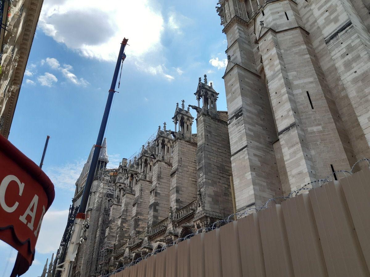 Notre Dame,j'ai fait le tour,mais l'ensemble est interdit au public