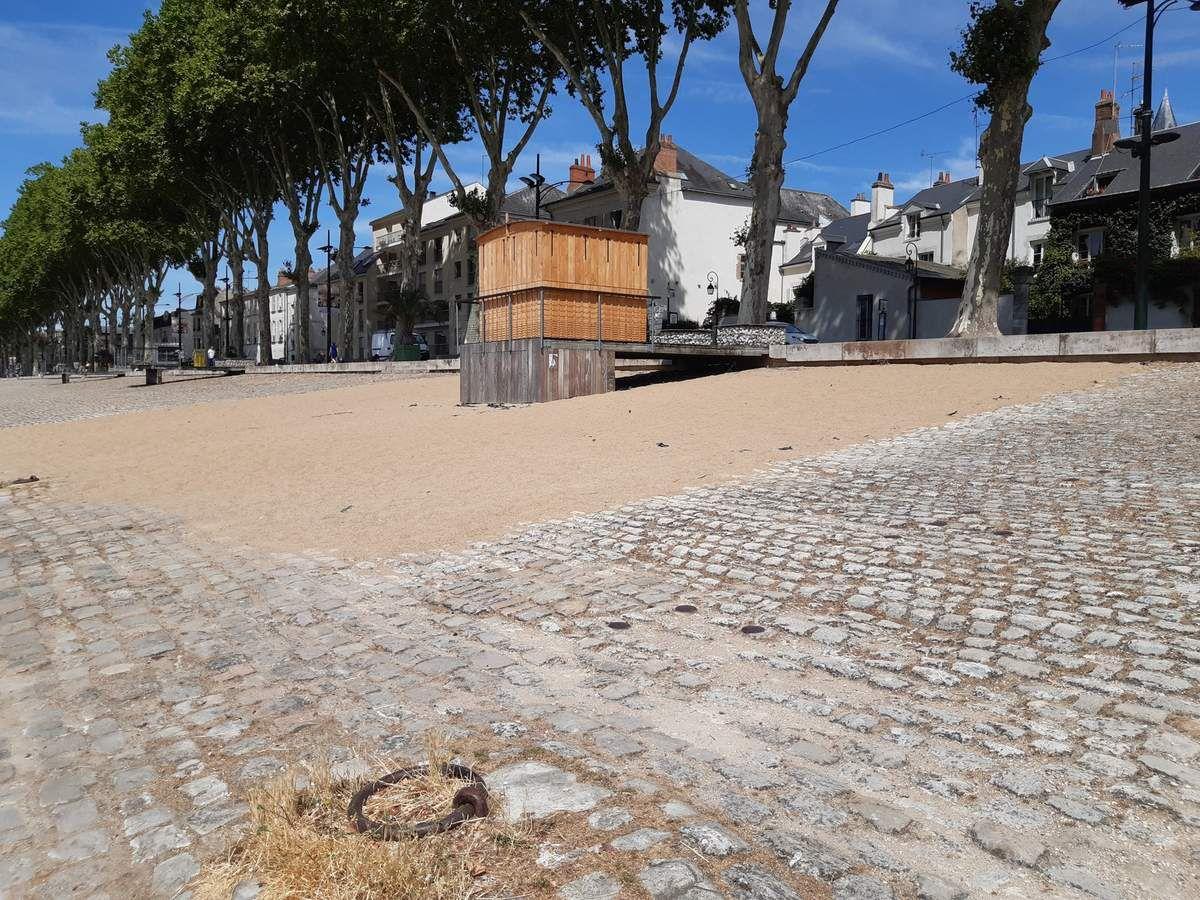 La plage d'Orléans