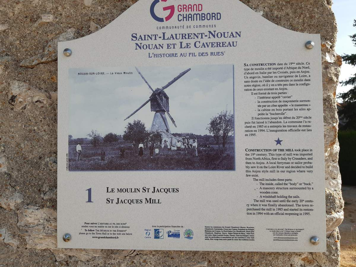 Le moulin de St Jacques