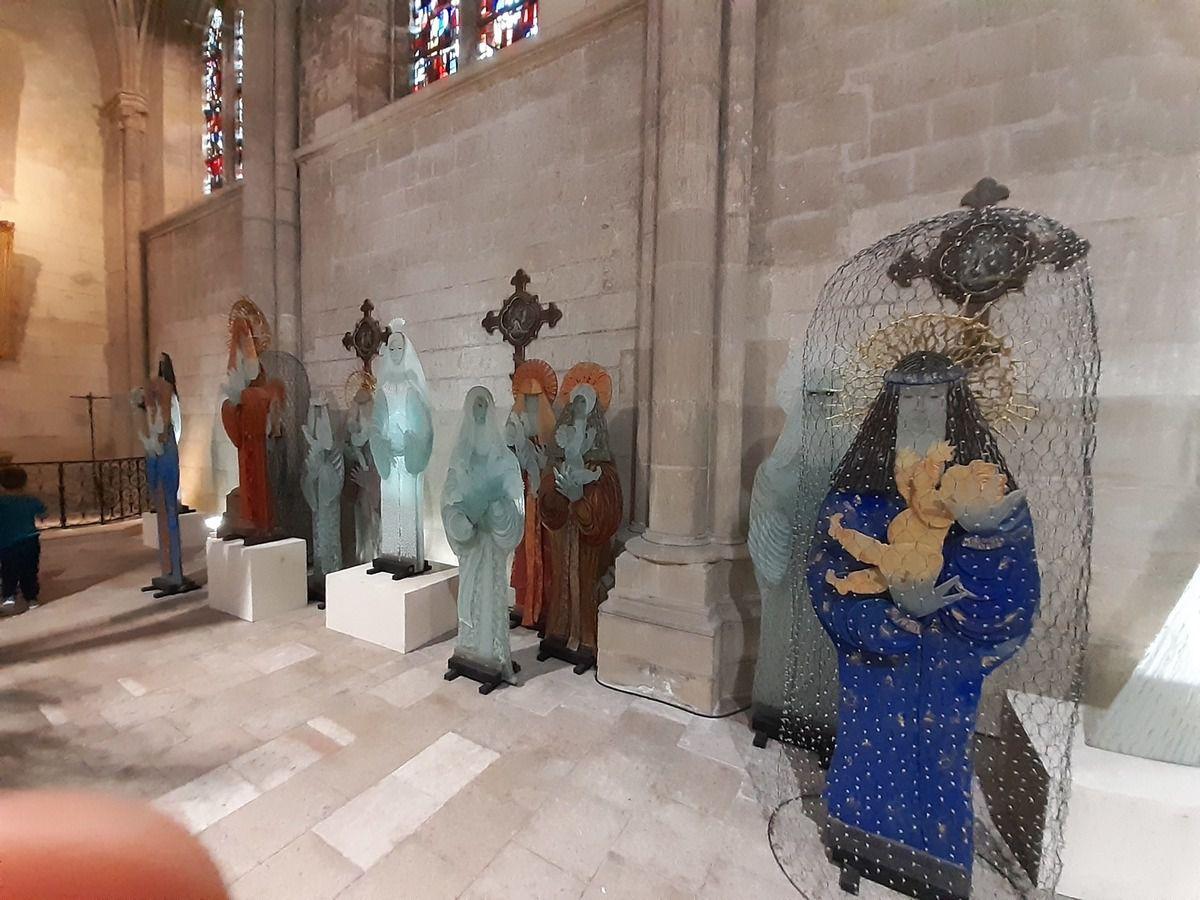 Exposition  sculpteur de verre Marcoville