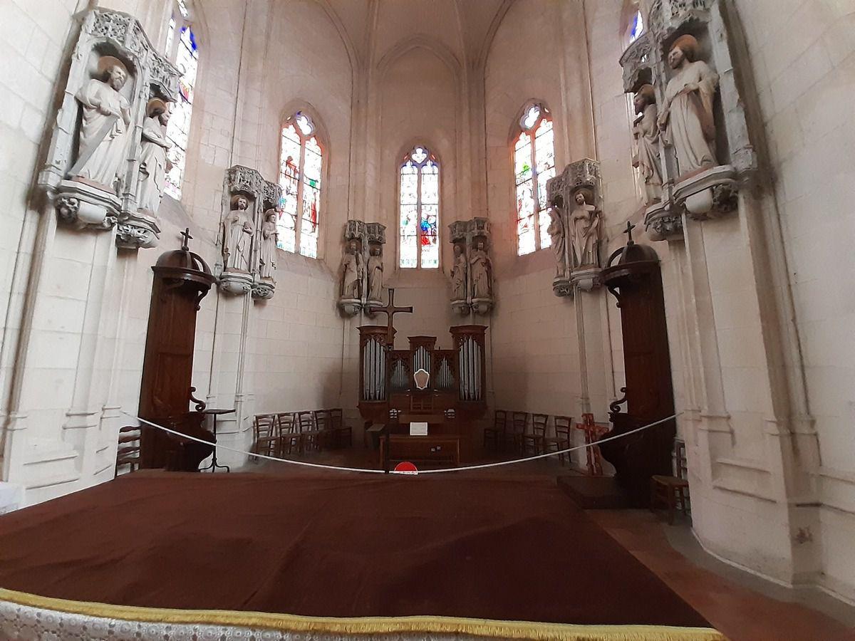 Église  St Eutrope   XI siècles
