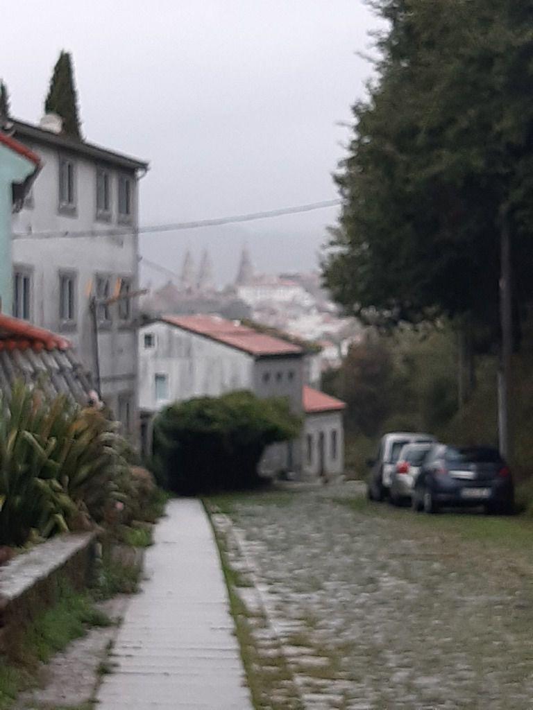 Santiago sous la pluie