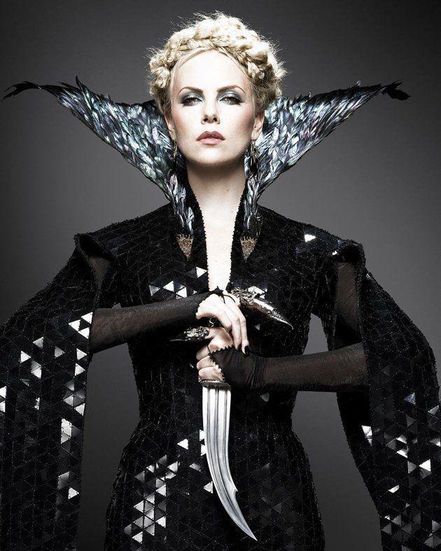 Charlize Theron, sorcière