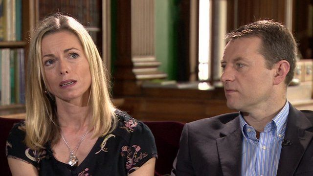 Les parents de Maddie McCann