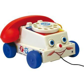 Le téléphone à tirer de Fisher Price
