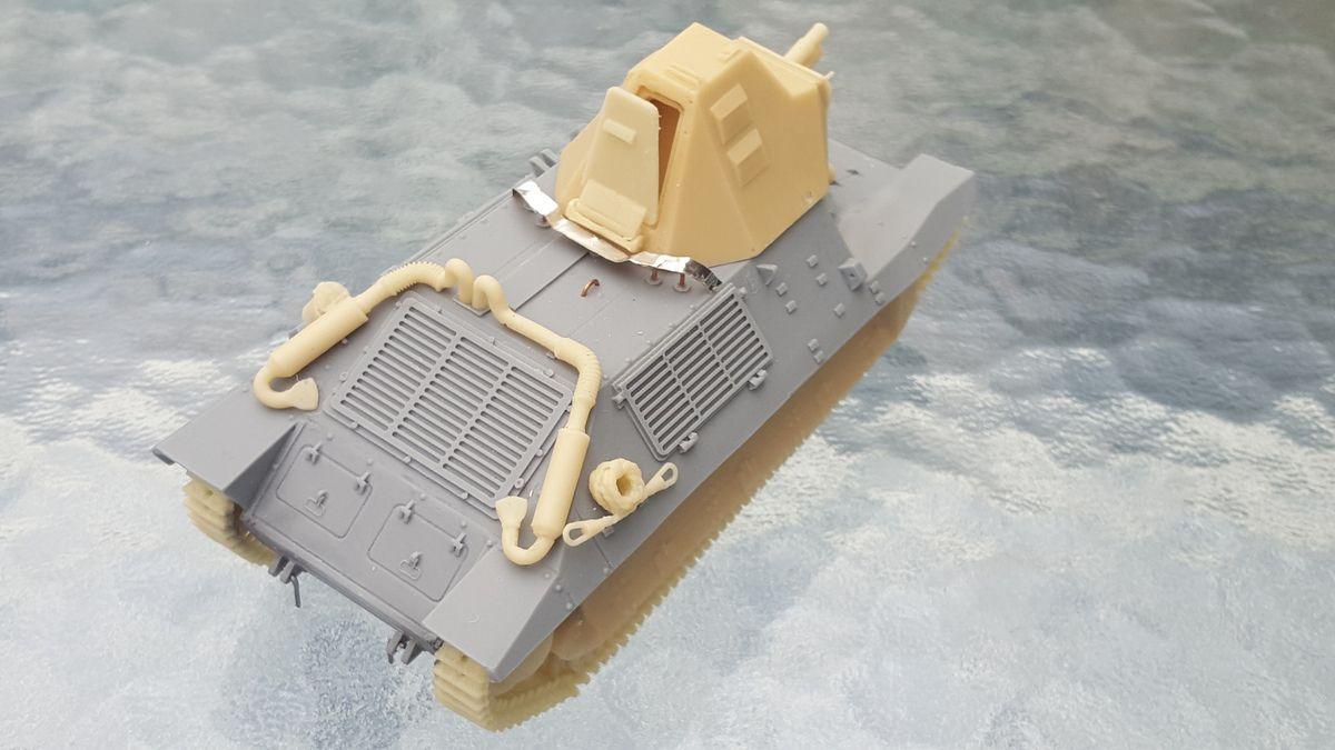 Char FCM 36, Blitzkit