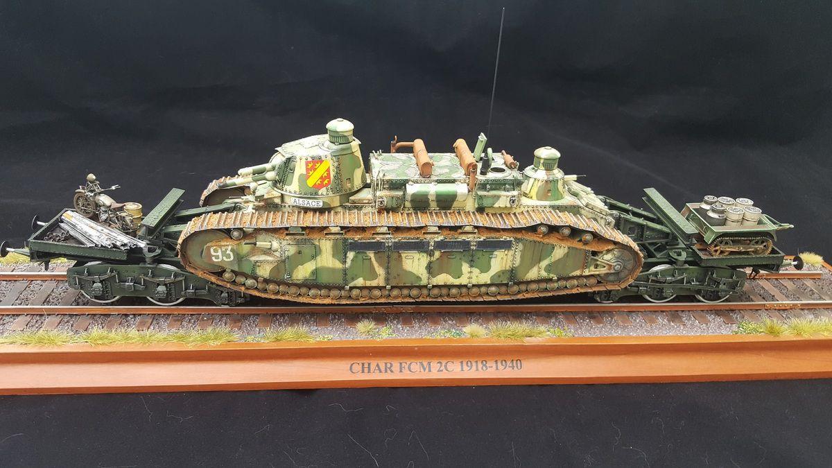 Char FCM 2C, Meng, 1/35