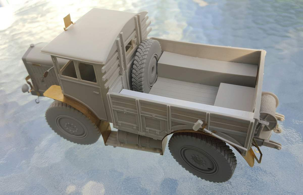 Tracteur lourd LATIL TAR H2 1940. AZIMUT Productions. 1/35