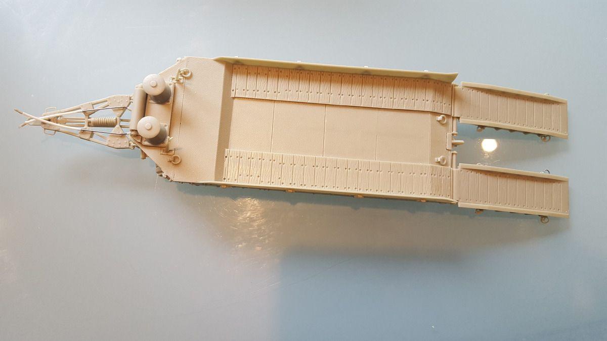 Remorque TITAN de 20 tonnes DESKIT + char FCM 36 BLITZKIT.1/35.