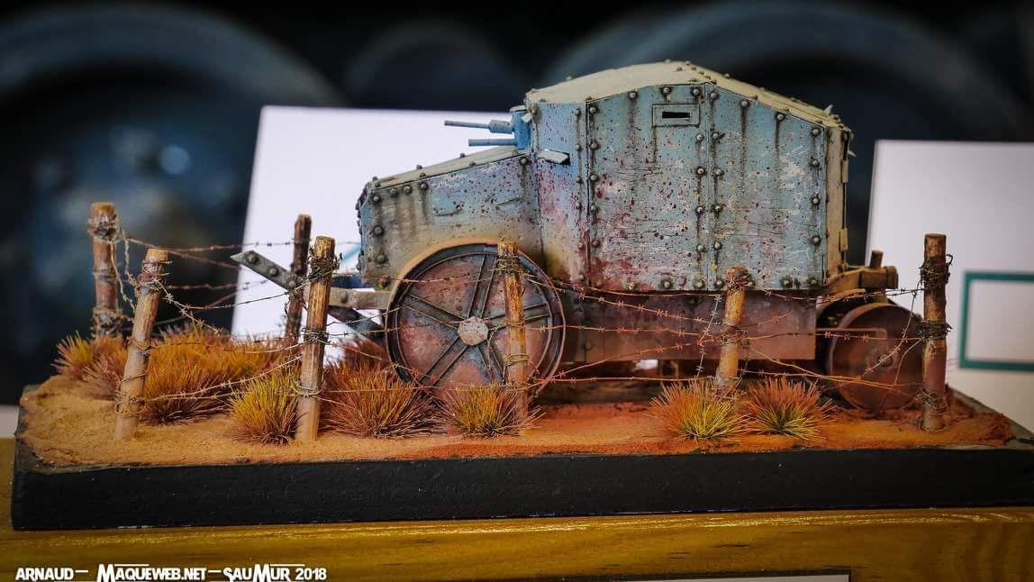 Tracteur Flitz, scratch intégral d'après photos