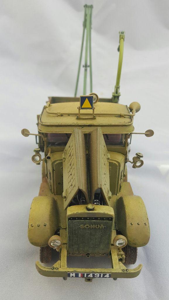 Tracteur lourd SOMUA MCL5 . Blitzkit. 1/35