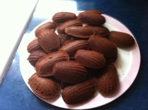 Des madeleines comme Proust!