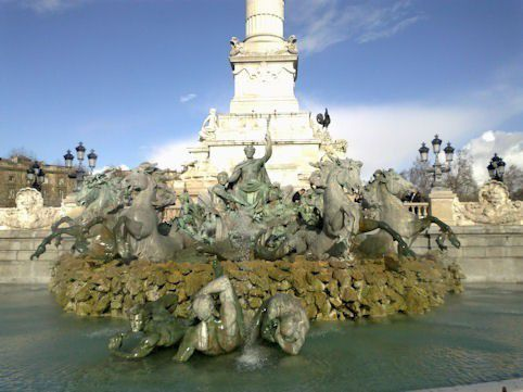 Fontaine des Girondins