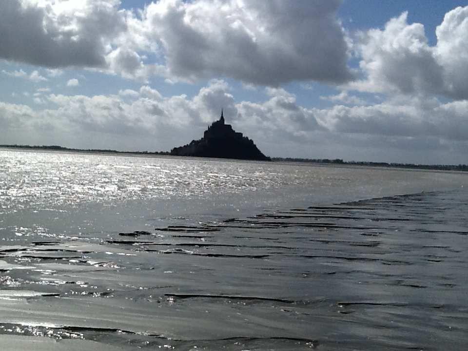 La traversée de la baie du Mont Saint Michel